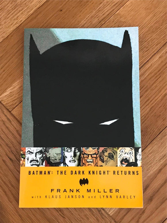 Batman The Dark Knight Returns Graphic Novel