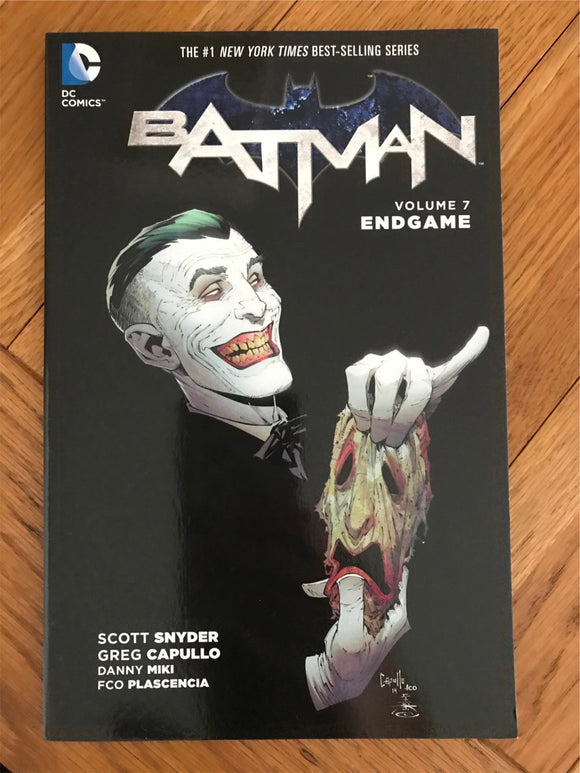 Batman Vol 7 Endgame Graphic Novel