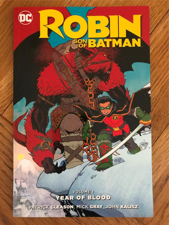 Robin Son Of Batman Vol. 1 Year of Blood Graphic Novel