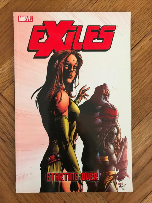 Exiles Starting Over Graphic Novel