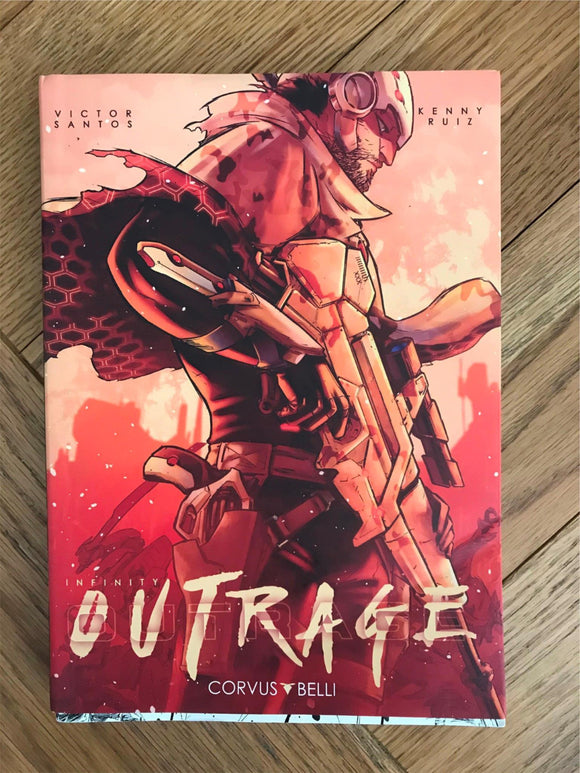 Infinity Outrage Graphic Novel