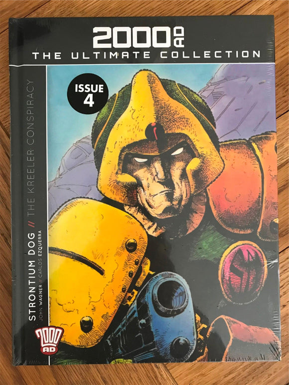 2000AD The Ultimate Collection Stontium Dog The Kreeler ConspiracyGraphic Novel