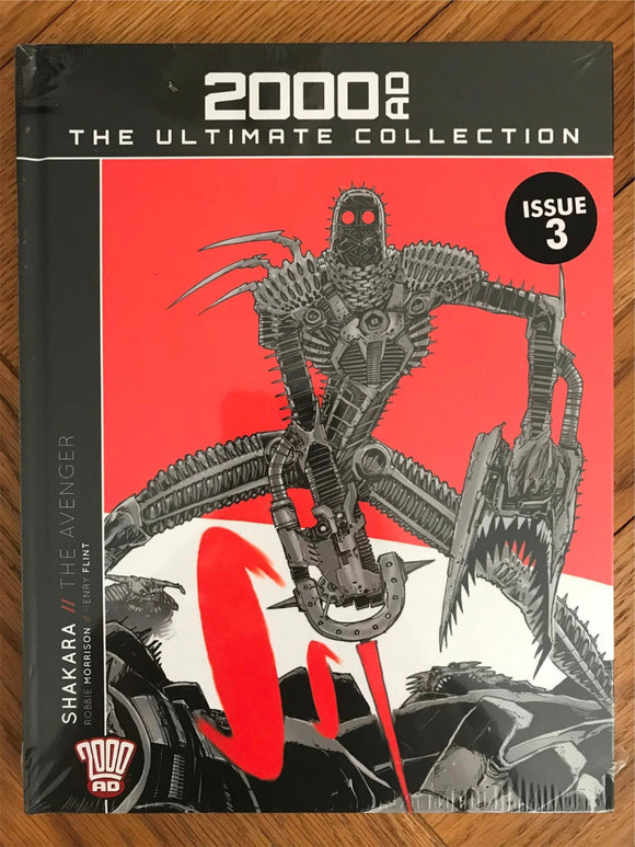 2000AD The Ultimate Collection Shakara The Avenger Graphic Novel