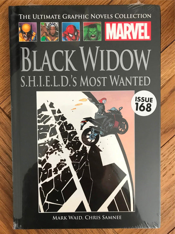Marvel Black Widow S.H.I.E.L.D's Most Wanted Issue 168 Graphic Novel