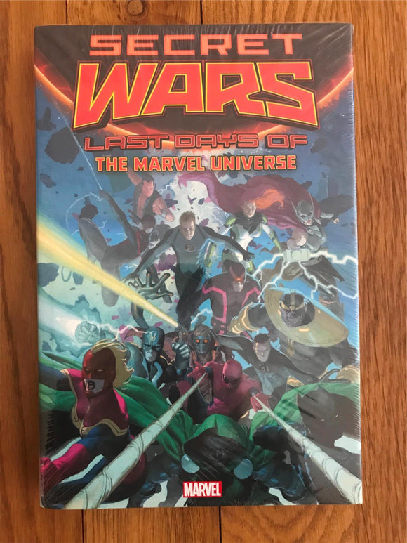 Secret Wars Last Days of The Marvel Universe Graphic Novel