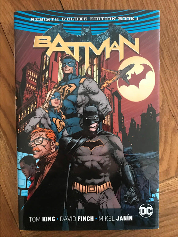 Batman ReBirth Deluxe Edition Graphic Novel
