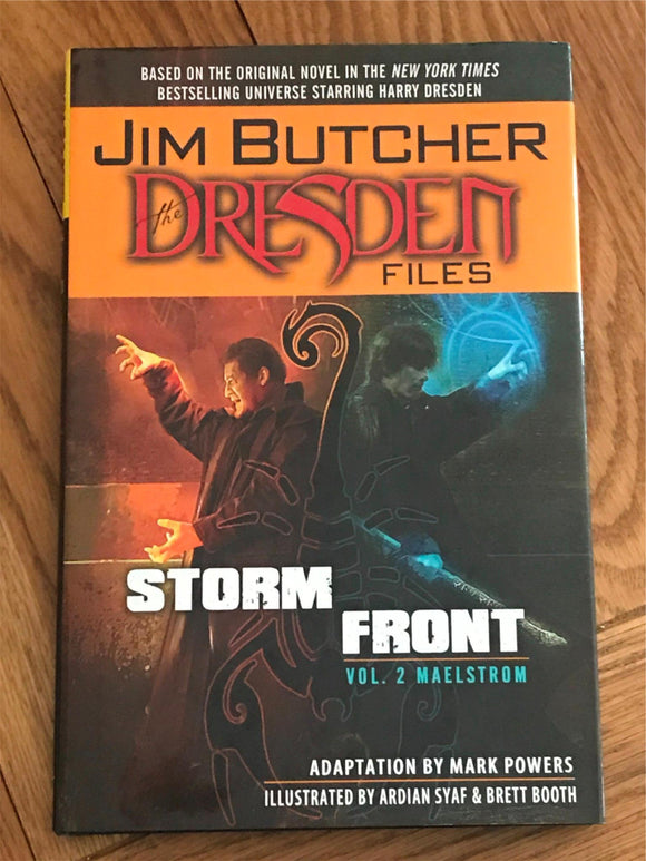 Jim Butcher The Dresden Files Storm Front Vol. 2 Maelstrom