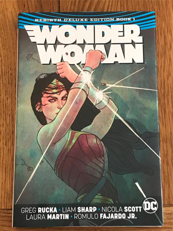 Wonder Women ReBirth Deluxe Edition Book 1 Graphic Novel
