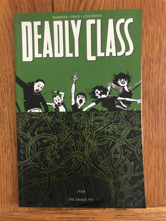 Deadly Class 3 Graphic Novel