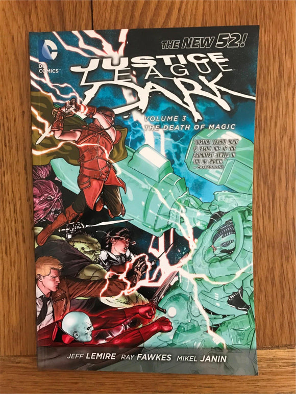 Justice League Dark The Death of Magic Vol 3 Graphic Novel