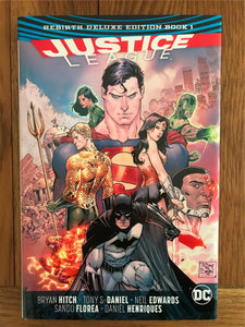 Justice League Rebirth Deluxe Edition Graphic Novel
