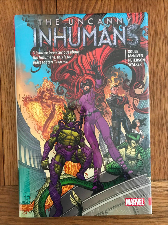 The Uncanny InHumans Graphic Novel