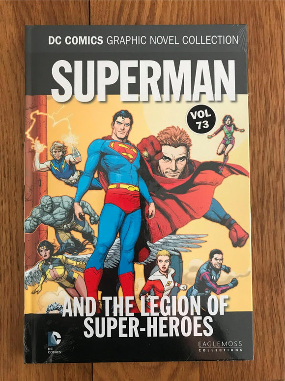 DC Superman and the Legion of Super-Heroes Graphic Novel
