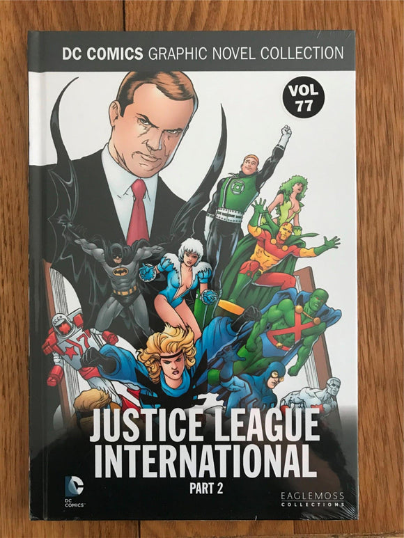 DC Justice League International Part 2 Graphic Novel