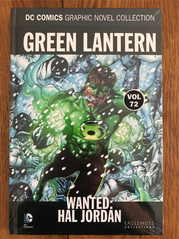 DC Green Lantern Wanted: Hal Jordan Graphic Novel