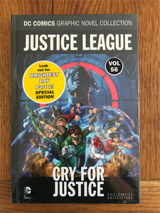 DC Justice League Cry For Justice Graphic Novel