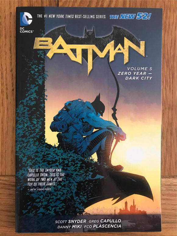 DC Batman Zero Year - Dark City Vol. 5 Graphic Novel