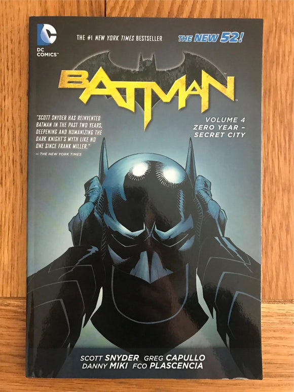 DC Batman Zero Year - Secret City Vol. 4 Graphic Novel