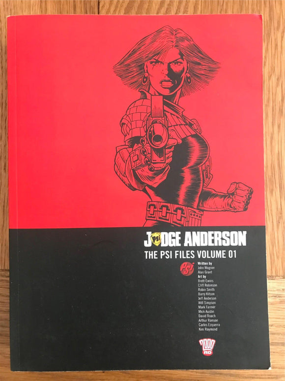 2000AD Judge Anderson The PSI Files Vol. 01 Graphic Novel