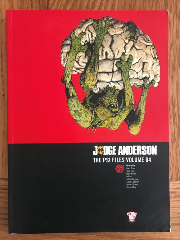 2000AD Judge Anderson The PSI Files Vol. 04 Graphic Novel