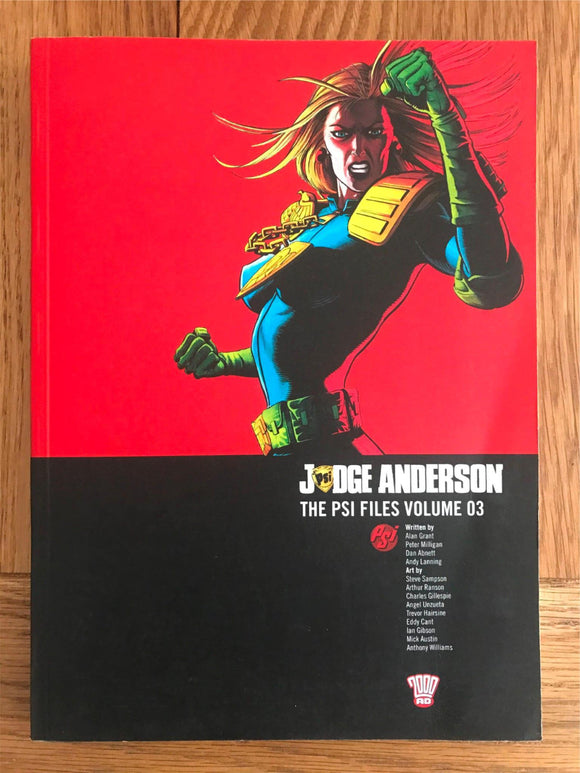 2000AD Judge Anderson The PSI Files Vol. 03 Graphic Novel