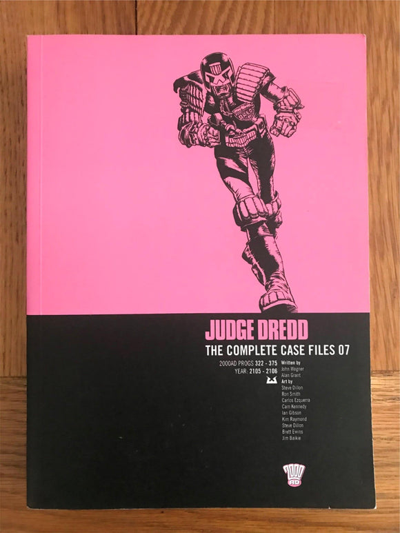 2000AD Judge Dredd The Complete Case Files 07 Graphic Novel