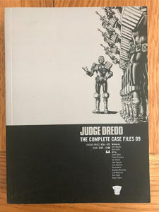 2000AD Judge Dredd The Complete Case Files 09 Graphic Novel