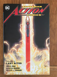 DC Superman Action Comics Vol.9 Last Rites Graphic Novel