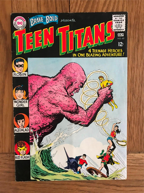 Brave and Bold #60 Second Teen Titans: First named as Teen Titans: Wonder Girl