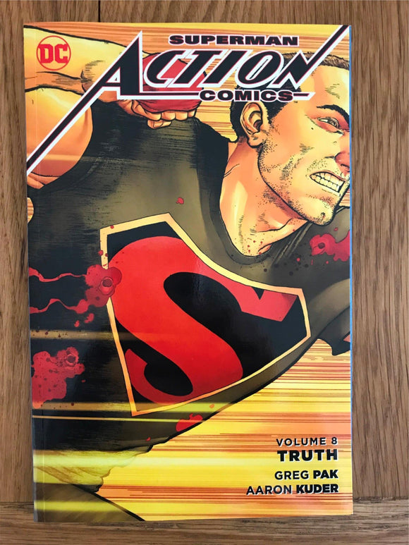 Superman Action Comics Truth Graphic Novel