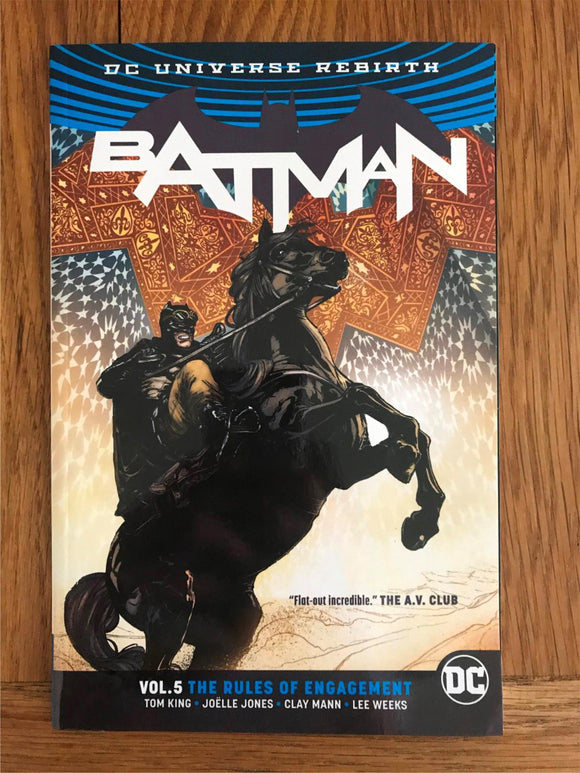 Batman The Rules of Engagement Graphic Novel
