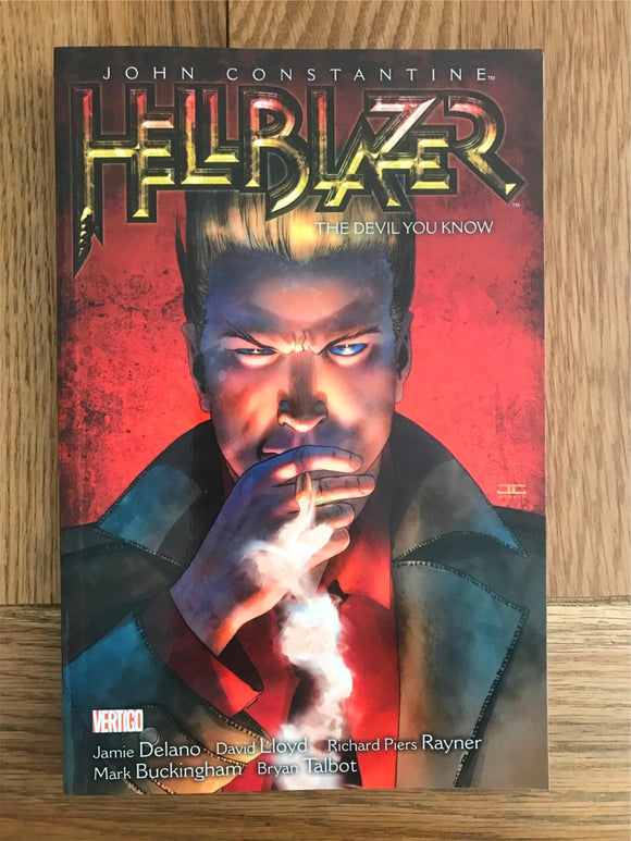 Hellblazer The Devil You Know Graphic Novel
