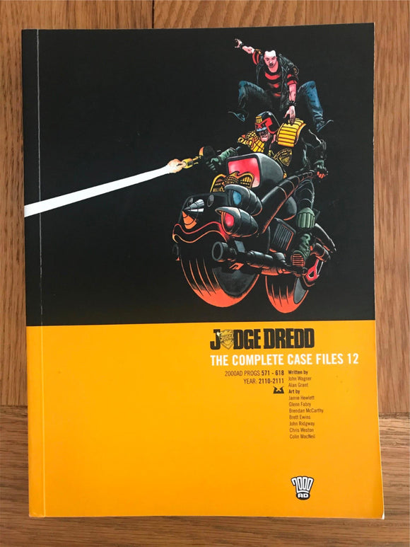 2000AD Judge Dredd The Complete Case Files 12 Graphic Novel