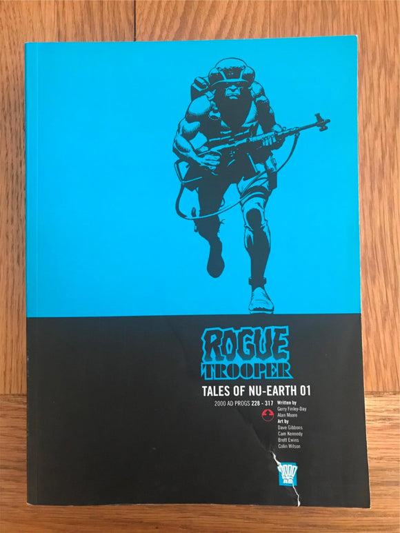 2000AD Rogue Trooper Tales of NU-Earth 01 Graphic Novel