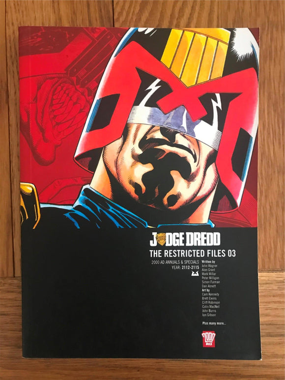 2000AD Judge Dredd The Restricted Files 03 Graphic Novel