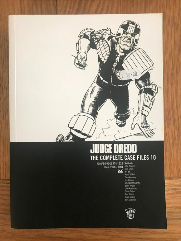 2000AD Judge Dredd The Complete Case Files 10 Graphic Novel