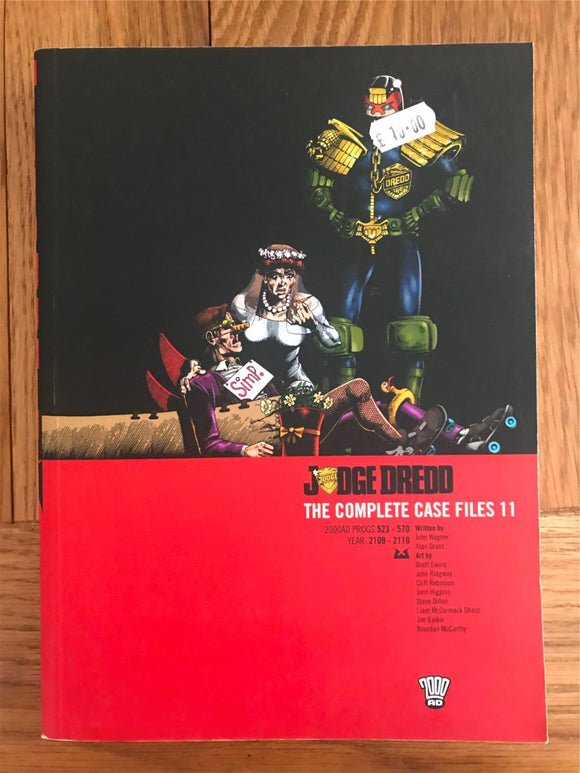 2000AD Judge Dredd The Complete Case Files 11 Graphic Novel