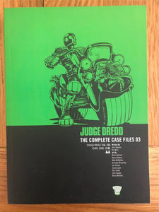 2000AD Judge Dredd The Complete Case Files 03 Graphic Novel