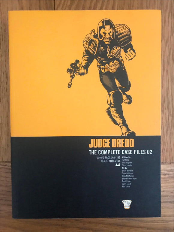 2000AD Judge Dredd The Complete Case Files 02 Graphic Novel