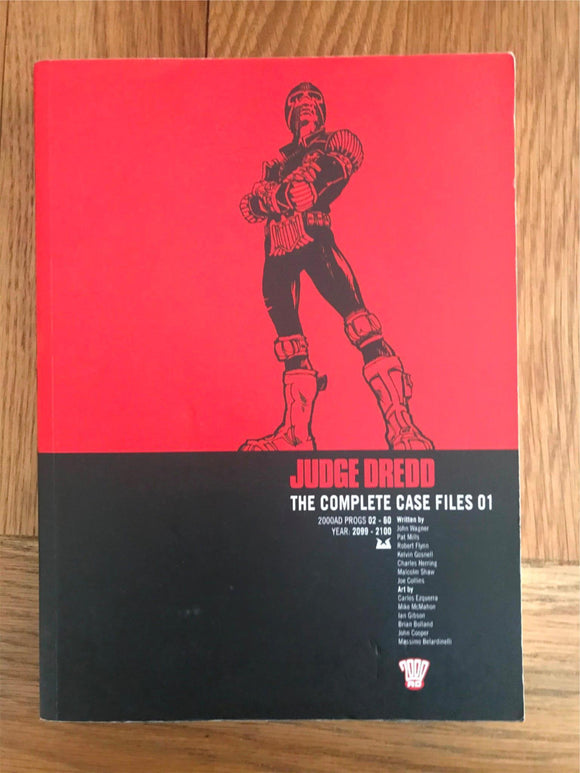 2000AD Judge Dredd The Complete Case Files 01 Graphic Novel