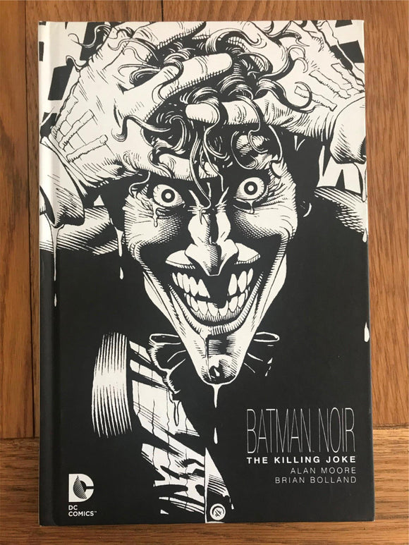 The Killing Joke Batman Noir Graphic Novel Hardback