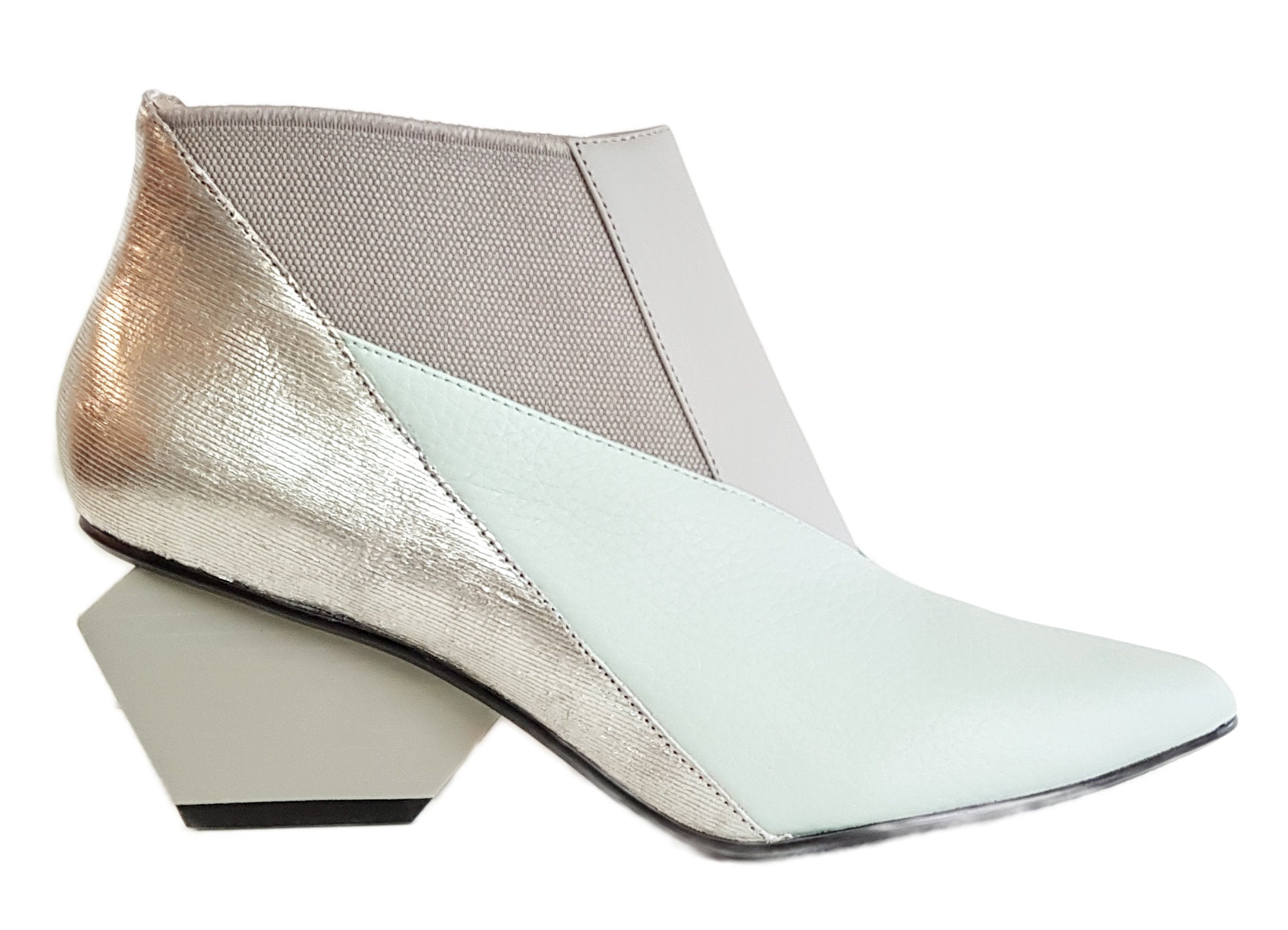 United Nude, Stiefelette, Spark Bootie Mid in Neo-Mint