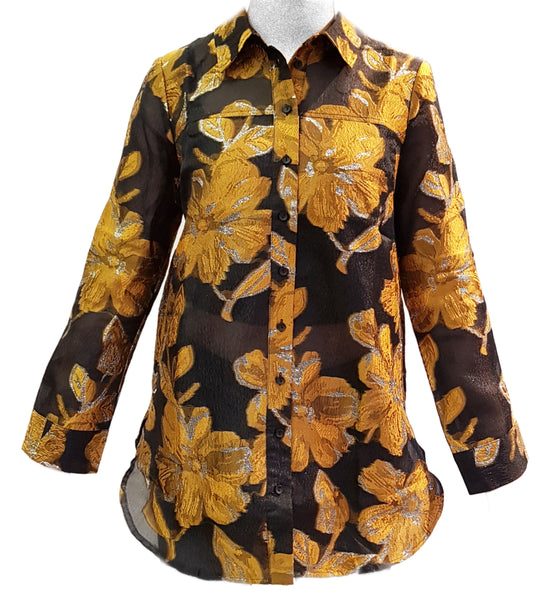 Just Female, Maison Shirt mit floralem Muster