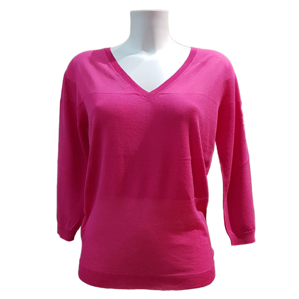 Tabaroni, Baumwoll-Pullover in Pink