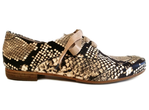 Homers, Schnürschuh in Snakeprint