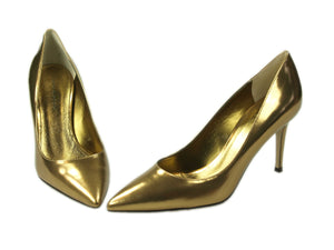 Fabio Rusconi, Nataly, Pumps goldfarben