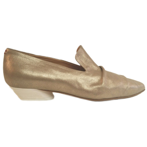 Halmanera, Zilly, Loafer in Goldbeige