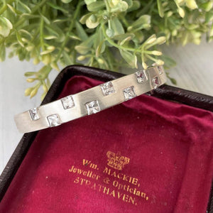 Scottish Silver Gem Set Bracelet