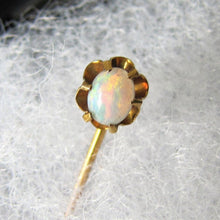 Load image into Gallery viewer, Antique Victorian 15ct Gold & Opal Stick Pin