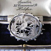 Load image into Gallery viewer, Victorian Aesthetic Sterling Silver Brooch
